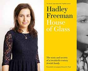 Hadley Freeman, and the cover of her memoir House of Glass
