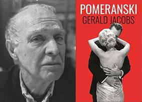 Gerald Jacobs with his novel Pomeranski