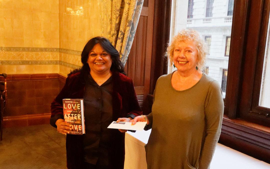 Best First Novel Award dinner
